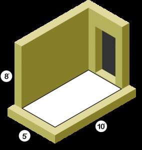 5x10 Storage Unit