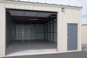 Peace of Mind Storage Unit Interior