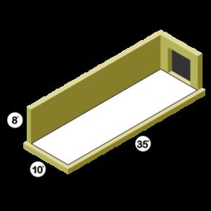 10x35 Storage Unit
