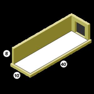 10x40 Storage Unit