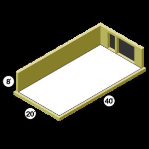 20x40 Storage Unit
